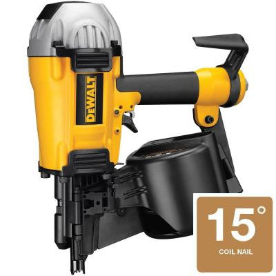 Pneumatic 1-1/2 in. - 3-1/2 in. 360° Coil Framing Nailer