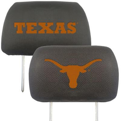 NCAA -University of Texas Head Rest Cover (2-Pack)