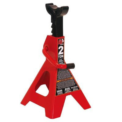 2-Ton Steel Jack Stands (2-Pack)