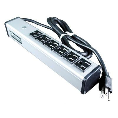 6 ft. 6-Outlet 15-Amp Compact Power Strip