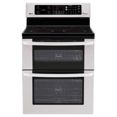 6.7 cu. ft. Double Oven Electric Range with EasyClean Self-Cleaning Oven in Stainless Steel