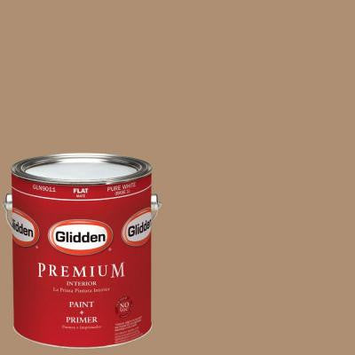 1-gal. #HDGO51 Sandy Cove Flat Latex Interior Paint with Primer