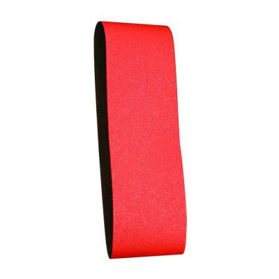 3 in. x 21 in. 50-Grit Sanding Belt (2-Pack)
