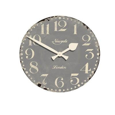 19.5 in. Market Grey Hall Clock