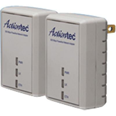 500 Mbps Powerline Adapter Two-Unit Network Kit