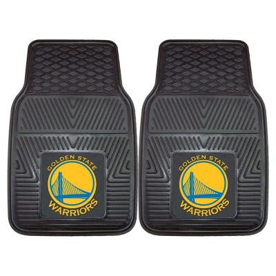 Golden State Warriors 18 in. x 27 in. 2-Piece Heavy Duty Vinyl Car Mat