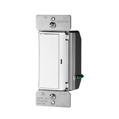 Aspire 15-Amp 120-Volt Single Pole RF Wireless Light Switch - Light Almond