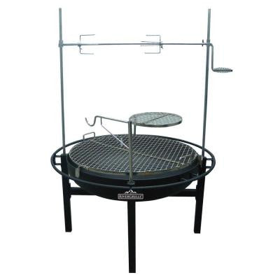 Cowboy 31 in. Charcoal Grill and Fire Pit