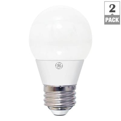40W Equivalent Soft White A15 Dimmable LED Light Bulb (2-Pack)