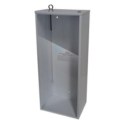 20 lb. Steel Surface Mount Fire Extinguisher Cabinet in White