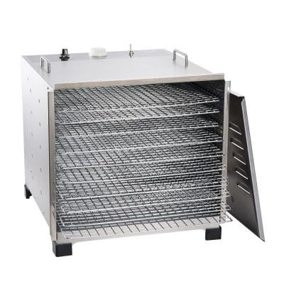 10 Tray Dehydrator in Stainless Steel