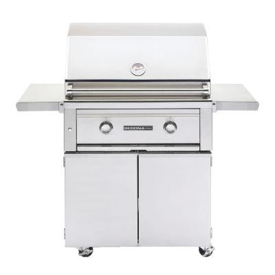 2-Burner Stainless Steel Propane Gas Grill