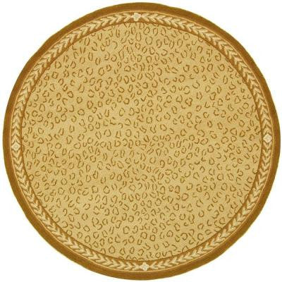 Chelsea Ivory 5 ft. 6 in. Round Area Rug