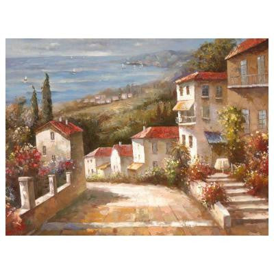 24 in. x 32 in. Tuscany Canvas Art