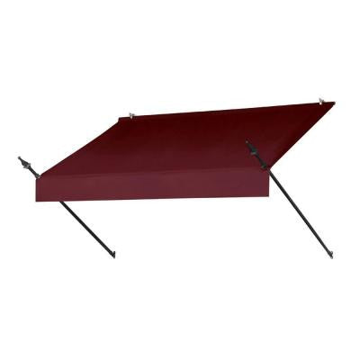 6 ft. Designer Manually Retractable Awning (Projection 36.5 in.) in Burgundy