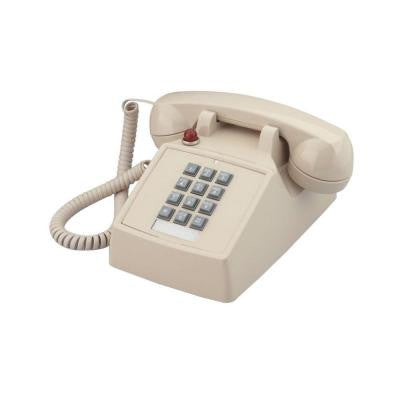 Desk Corded Telephone with Message Waiting