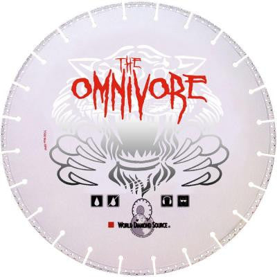 Omnivore 4 in. x 0.080 in.Cuts Everything Diamond Blade for Circular Saws