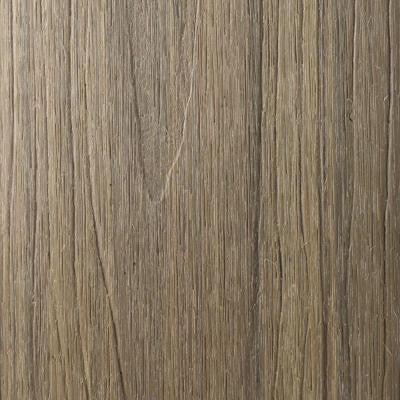 UltraShield Naturale Cortes Series 0.9 in. x 5-1/2 in. x 0.5 ft. Solid Composite Decking Board Sample in Roman Antique