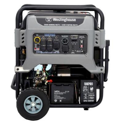 10KPRO Fully Featured 10,000 Watt Portable Generator, Electric and Remote Start