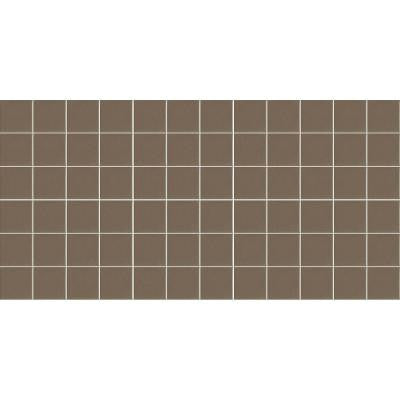 Keystones Unglazed Artisan Brown 12 in. x 24 in. x 6 mm Porcelain Mosaic Floor and Wall Tile (24 sq. ft. / case)