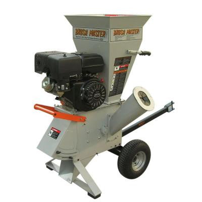 3 in. 11-HP 270cc Feed Commercial Duty Chipper Shredder