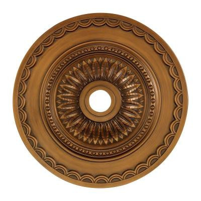 Brookdale 30 in. Antique Bronze Ceiling Medallion