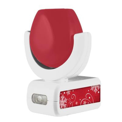 Automatic LED 6-Image Christmas Night Light