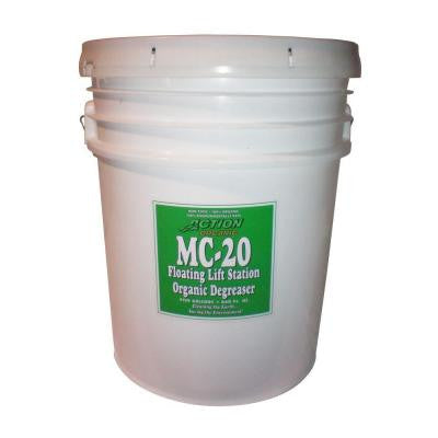 5 Gal. Pail Organic Septic Tank and Lift Station Degreaser (at 50% Concentrate) (24-Pack)