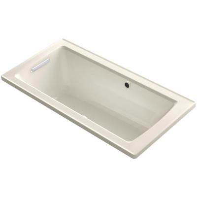 Archer 5 ft. Walk-In Whirlpool and Air Bath Tub in Biscuit