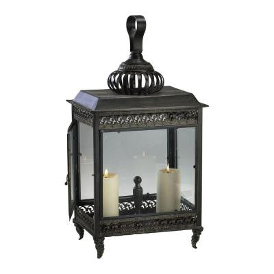 Prospect 28 in. Old World Candle Holder Lantern