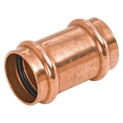 1 in. Copper Press x Press Pressure Repair Coupling with No Stop