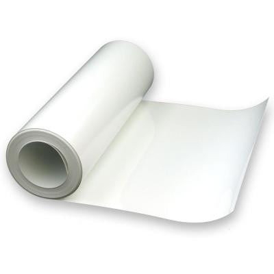 14 in. x 30 ft. White Vinyl Deck Flashing