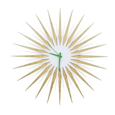 Brevium 23 in. x 23 in. Modern Wall Clock