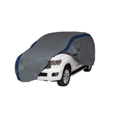 Weather Defender SUV or Pickup with Shell/Bed Cap Semi-Custom Cover Fits up to 22 ft.