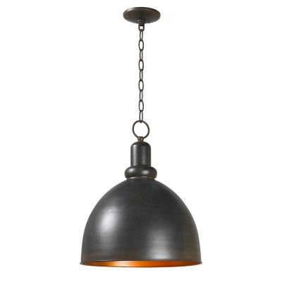Loft 1-Light Rust Pendant