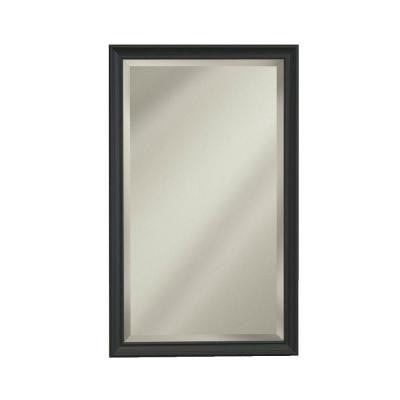 Studio V 15 in. W x 35 in. H x 5 in. D Recessed Medicine Cabinet with 1/2 in. Beveled Edge Mirror in Oil Rubbed Bronze