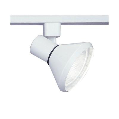 1 Light Track Light White Finish