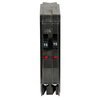 QO 2-15 Amp Single-Pole Tandem Circuit Breaker