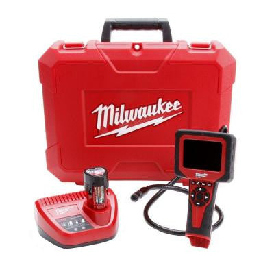 M12 12-Volt Lithium-Ion Cordless M-Spector AV Multimedia Camera Kit