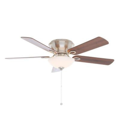 Adonia 52 in. Brushed Nickel Ceiling Fan