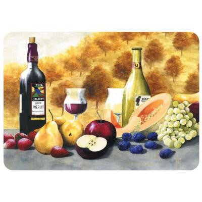 Merlot Gallery 22 in. x 31 in. Polyester Surface Mat