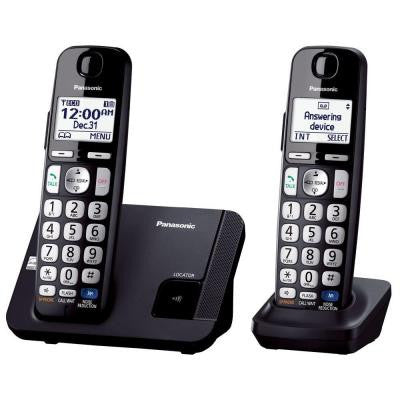 Amplified Expandable Digital Cordless Answering System with 2 Handsets