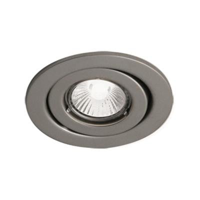 300 Series 4 in. Satin Recessed Halogen Interior Applications Light Fixture Kit