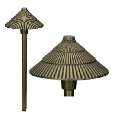 LV10AB Landscape Lighting Path Light Low Voltage (12V) Die Cast Brass G4 Antique Bronze
