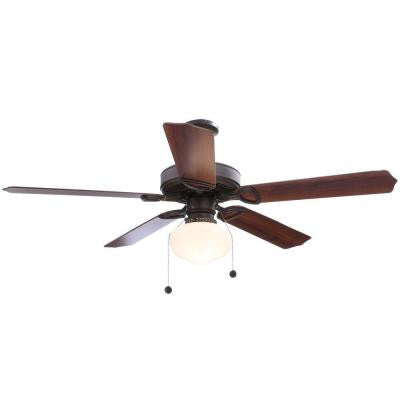 Tri-Mount 52 in. Oil Rubbed Bronze Energy Star Ceiling Fan