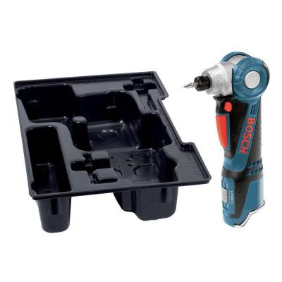 12-Volt Max Lithium-Ion 1/4 in. Cordless Right Angle Drill with Exact-Fit Insert Tray (Tool Only)