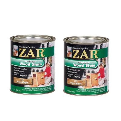 117 1-qt. Honey Maple Wood Stain (2-Pack)