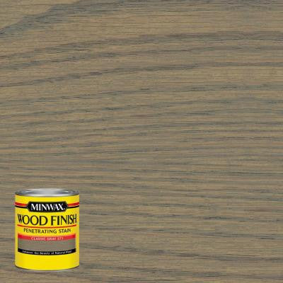 8 oz. Wood Finish Classic Gray Oil-Based Interior Stain