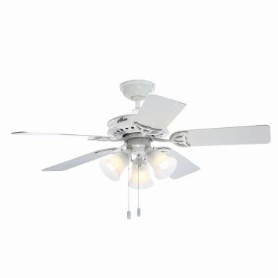 Stonington 46 in. White Indoor Ceiling Fan