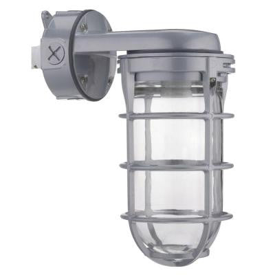 300-Watt Incandescent Utility Vapor Tight Wall Mount Fixture